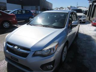 Used 2012 Subaru Impreza 5dr HB Man 2.0i w-Touring Pkg for sale in Beauport, QC