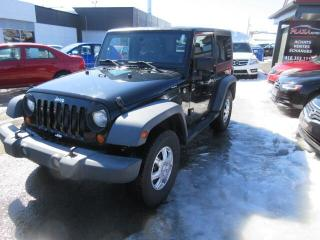 Used 2007 Jeep Wrangler 4WD 2dr X, 2 TOITS for sale in Beauport, QC