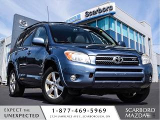 Used 2008 Toyota RAV4 4WD|LIMITED|LEATHER|BLUETOOTH|1 OWNER for sale in Scarborough, ON