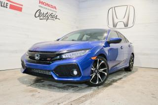Used 2017 Honda Civic Berline, boîte manuelle, Si for sale in Blainville, QC