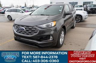 New 2020 Ford Edge SEL Navigation, Ford Co-Pilot360 Assist, Touch Screen, Convenience Package, Remote Engine Start! for sale in Okotoks, AB