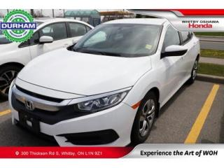 Used 2018 Honda Civic LX for sale in Whitby, ON