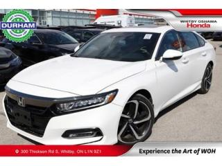 Used 2019 Honda Accord Sport 2.0T Auto for sale in Whitby, ON