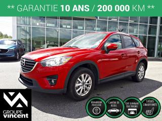Used 2016 Mazda CX-5 GS AWD ** GARANTIE 10 ANS ** En superbe condition! for sale in Shawinigan, QC