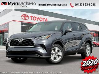 New 2020 Toyota Highlander LE  - $272 B/W for sale in Ottawa, ON