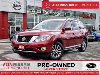 Used 2015 Nissan Pathfinder SL   Leather   Blind Spot   Heated Seats   Pano for sale in Richmond Hill, ON