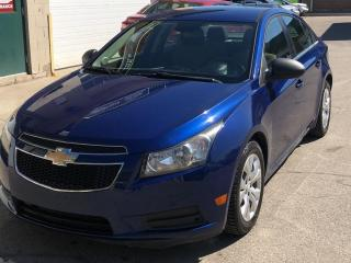 Used 2012 Chevrolet Cruze 4dr Sdn LS  w/1SB for sale in Caledon, ON