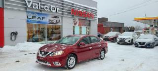 Used 2018 Nissan Sentra SV TECH+DÉMARREUR+BAS MILLAGE for sale in Val-d'Or, QC