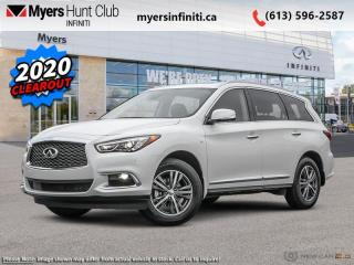 New 2020 Infiniti QX60 Essential AWD  - Sunroof -  Heated Seats for sale in Ottawa, ON