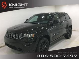 New 2020 Jeep Grand Cherokee Altitude V6 | Leather | Sunroof | Navigation for sale in Regina, SK