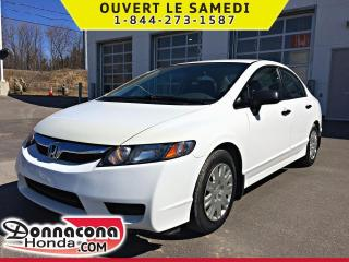 Used 2009 Honda Civic DX *SEULEMENT 97 971 KM* for sale in Donnacona, QC