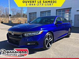 Used 2018 Honda Accord Sport *GARANTIE 10 ANS / 200 000 KM* for sale in Donnacona, QC