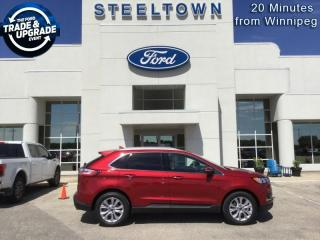 New 2020 Ford Edge Titanium  - Leather Seats -  Heated Seats for sale in Selkirk, MB