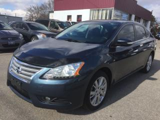 Used 2015 Nissan Sentra SL/LEATHER/SUNROOF/NAV/HEATED SEATS/BACK-UP CAMERA for sale in Guelph, ON