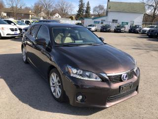 Used 2013 Lexus CT 200h Premium, Tech Package for sale in St Catharines, ON