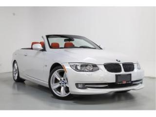 Used 2011 BMW 3 Series 328i   CABRIOLET   RED LEATHER   NAVIGATION for sale in Vaughan, ON