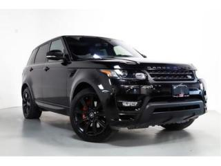 Used 2016 Land Rover Range Rover Sport AUTOBIOGRAPHY   RED LTHR   NAVI   21 INCH WHEELS for sale in Vaughan, ON