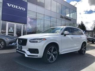 Used 2016 Volvo XC90 T6 R-Design Available Volvo Certified Warranty! for sale in Surrey, BC