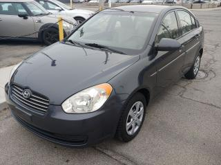 Used 2009 Hyundai Accent GLS ***GREAT CONDITION/DRIVES LIKE NEW/ONLY 124 KMS*** for sale in Hamilton, ON