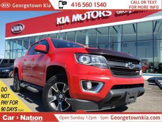 Used 2016 Chevrolet Colorado Z71 | DIESEL|CREW|TONNEAU CVR |TOW BRAKE|HTD SEATS for sale in Georgetown, ON