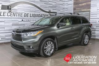 Used 2015 Toyota Highlander XLE+AWD+MAGS+CUIR+TOIT/OUV+CAM/REC+BLUETOOTH for sale in Laval, QC