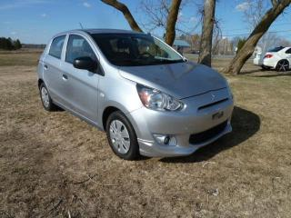 Used 2015 Mitsubishi Mirage ES à hayon 4 portes transmission à varia for sale in St-Isidore, QC