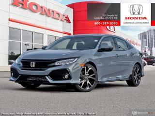 New 2020 Honda Civic Sport Touring SPORT TOURING for sale in Cambridge, ON