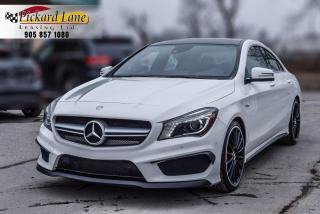 Used 2014 Mercedes-Benz CLA-Class CLA 45 AMG||NAVIGATION||AWD||REVERSE CAMERA||CERTIFIED!! for sale in Bolton, ON