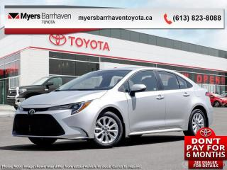 New 2020 Toyota Corolla LE Upgrade Package  - Sunroof - $156 B/W for sale in Ottawa, ON