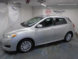 Used 2009 Toyota Matrix XR for sale in Ancienne Lorette, QC