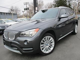 Used 2013 BMW X1 28I AWD NAVIGATION POWER MOONROOF 42,000KMS !! for sale in Burlington, ON