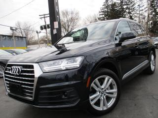 Used 2017 Audi Q7 S-LINE TECHNIK|NAVIGATION SYSTEM|7 PASS|79KMS for sale in Burlington, ON