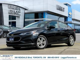 Used 2016 Chevrolet Cruze LT  - Heated Seats -  Cruise Control for sale in Etobicoke, ON