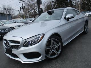 Used 2017 Mercedes-Benz C-Class C300 4MATIC|COUPE|AMG PKG|ONE OWNER|16,000KMS !!! for sale in Burlington, ON