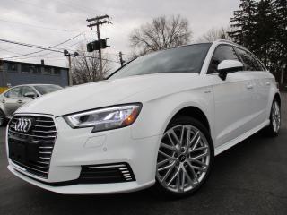 Used 2017 Audi A3 e-Tron HYBRID TECHNIK|PLUG IN|ONE OWNER|NAVI|28,00 for sale in Burlington, ON