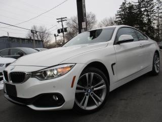 Used 2017 BMW 4 Series 430I XDRIVE|COUPE|ONE OWNER|NAVIGATION|33,000KM for sale in Burlington, ON