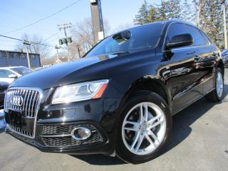 Used 2016 Audi Q5 2.0T S-LINE PROGRESSIV|NAVIGATION|POWER MOONROOF for sale in Burlington, ON