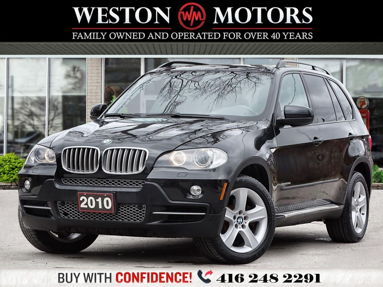 2010 BMW X5 XDRIVE*35D*NAVI*LEATHER*PAN AM SUNROOF*DIESEL!!*