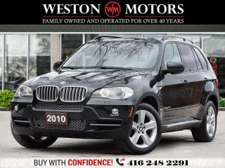 Used 2010 BMW X5 XDRIVE*35D*NAVI*LEATHER*PAN AM SUNROOF*DIESEL!!* for sale in Toronto, ON