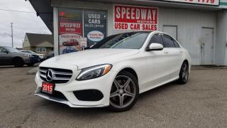 Used 2015 Mercedes-Benz C-Class C 300 4 Matic Fully Loaded, AMG Pkg for sale in Oakville, ON