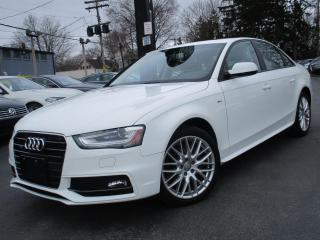 Used 2016 Audi A4 S-LINE KOMFORT+ONE OWNER|53,000KMS|SUNROOF !! for sale in Burlington, ON
