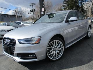 Used 2015 Audi A4 S-LINE KOMFORT+ONE OWNER|45,000KMS ONLY|SUNROOF for sale in Burlington, ON