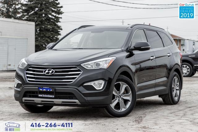 2015 Hyundai Santa Fe XL Luxury|Leather|Backup Cam|Keyless|Alloys|HTD Seats