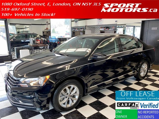 2016 Volkswagen Passat Trendline+ApplePlay+New Tires+Camera+Accident Free