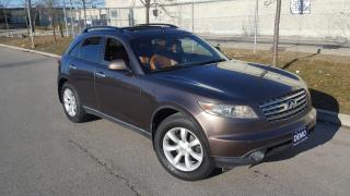 Used 2005 Infiniti FX35 AWD, Leather, Low KM, 3/Y Warranty Available for sale in Toronto, ON