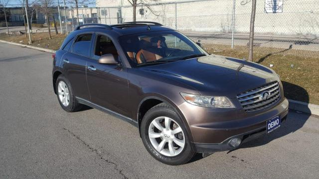 2005 Infiniti FX35 AWD, Leather, Low KM, 3/Y Warranty Available