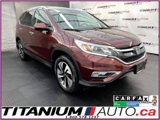 Used 2016 Honda CR-V Touring+AWD+GPS+Camera+Lane Assist+Adaptive Cruise for sale in London, ON