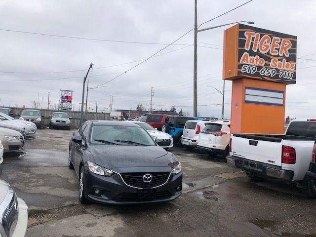2015 Mazda MAZDA6 GS*ONLY 153KMS*LEATHER**SUNROOF**AUTO**CERTIFIED