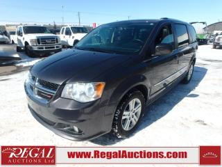 Used 2017 Dodge Grand Caravan Crew Plus Wagon 3.6L for sale in Calgary, AB