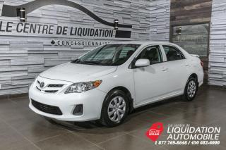 Used 2012 Toyota Corolla GR/ELEC+A/C for sale in Laval, QC